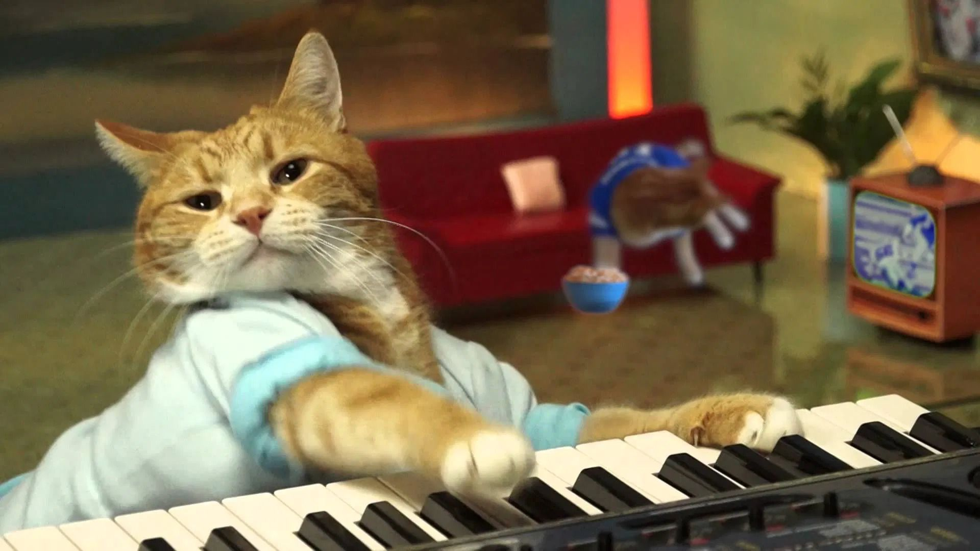 RIP Bento, the original keyboard cat.